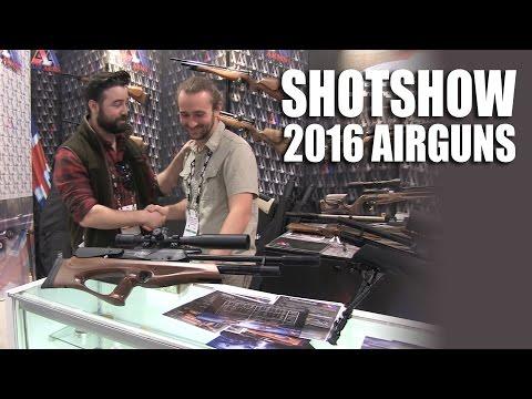 Airguns at ShotShow 2016