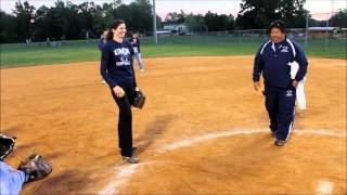 Pitching Mechanics with Coach Keith Tasaka, Annie Blaine and Kirsten Rowell
