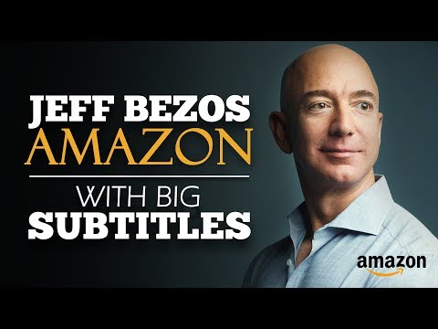 ENGLISH SPEECH   JEFF BEZOS: What Will You Be? (English Subtitles)