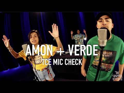 Amon The MC + Verde - Breaking News ( Feat. DJ JG ) [ TCE Mic Check ]