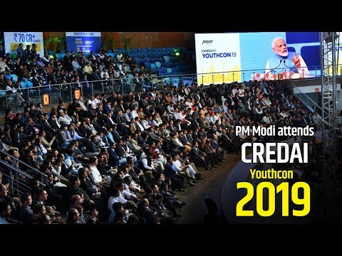 PM Modi addresses CREDAI Youthcon-2019