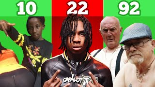 BEST RAPPERS BY AGE! (10 - 92 Years Old)