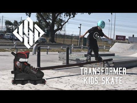 USD Transformer kids skate - street inline skates for children