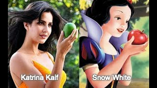Disney Princess As Bollywood Celebrities