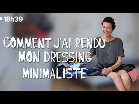 Émilie, coach minimaliste, vous montre comment elle trie son dressing !