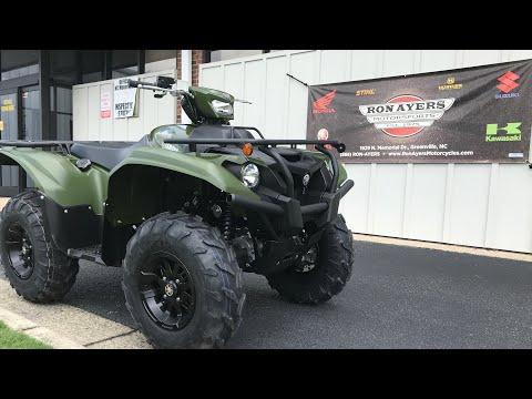 2020 Yamaha Kodiak 700 EPS in Greenville, North Carolina - Video 1
