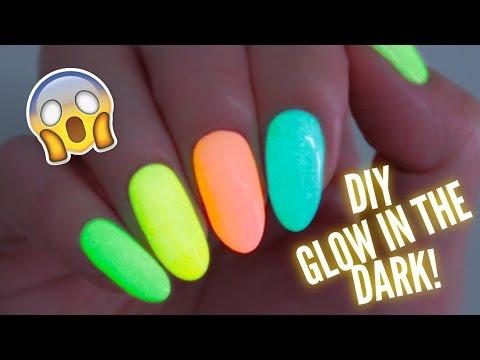 DIY Glow In The Dark Nail Polish!