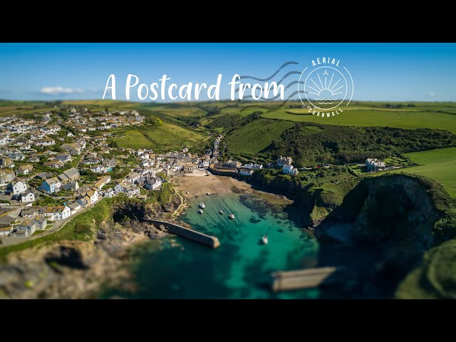 A Postcard from Aerial Cornwall
