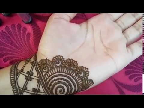 Download Latest Beautiful Stylish And Easy Mehndi Designs For Front