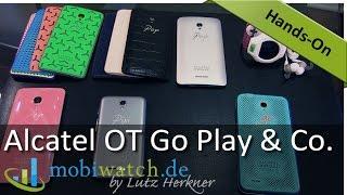 Alcatel One Touch: Neue Smartphones zur IFA ab 69 Euro – Hands-on-Video