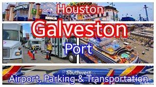 Galveston Cruise Port | Terminal Parking | Houston IAH / Hobby Airports | Carnival Shuttle to Port
