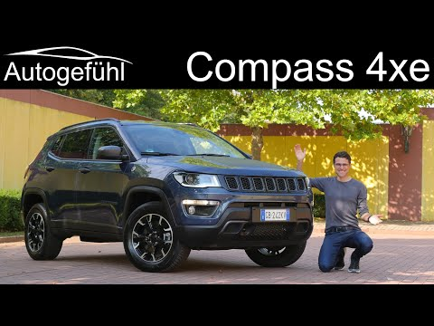 Jeep Compass PHEV FULL REVIEW 2021 Compass Plugin-Hybrid 4xe - Autogefühl