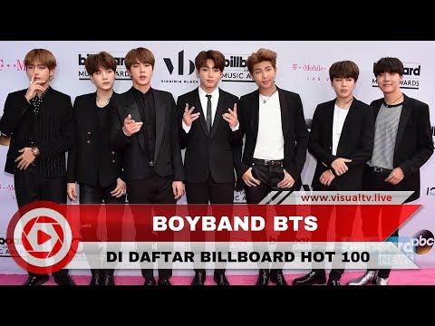 Bts cetak rekor di chart billboard