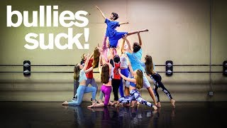 FRIENDS PROTECT BULLIED DANCER *emotional*