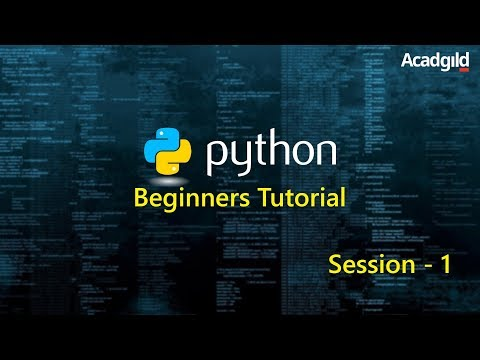 Python Tutorial for Beginners 2017 Part 1 | Python Programming Tutorial | Python Basics