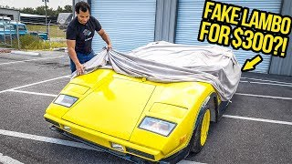 I Just Bought A FAKE Lamborghini For $300