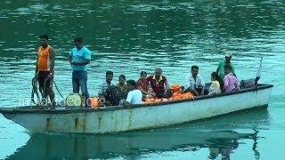 Boat ride to Mahatma Gandhi Marine National Park