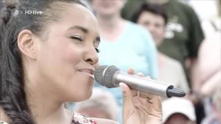 """29.05.2016 Fernsehgarten   Fahrenhaidt Feat. Cassandra Steen & Vincent Malin """"Ich Lauf"""""""
