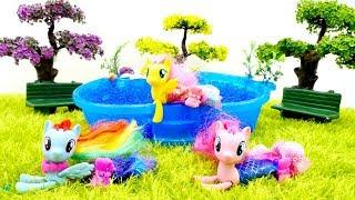 My little pony sirenas. Juguetes para niñas.