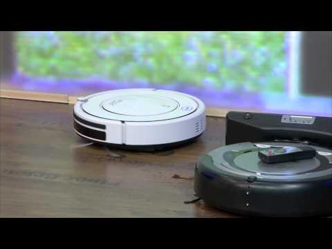 Sichler Reinigungs-/Staubsauger-Roboter PCR-1550M, m.Wischtuch-Aufsatz