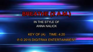 Anna Nalick - Breathe (2 AM) (Backing Track)
