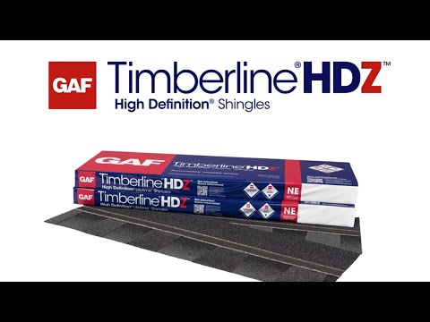 GAF Timberline High Def Shingles