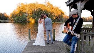 Tiffany & Charlie's Wedding Dance Featuring Jason Mraz Live