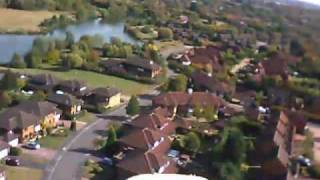 preview picture of video 'Great Holm Milton Keynes, Aerial Video taken from Radio Control Radian Glider'