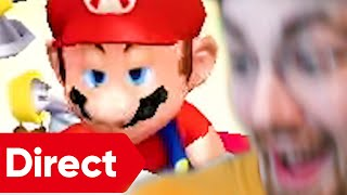 my stupid reactions to Mario Direct