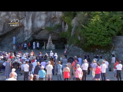 Chapelet du 8 septembre 2020 à Lourdes