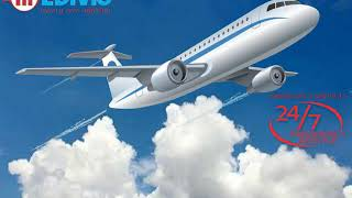 Classy Patient Transfer Air Ambulance Service in Delhi by Medivic Aviation