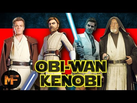 The Life of Obi-Wan Kenobi Explained (Padawan, Clone Wars & Tatooine Years)