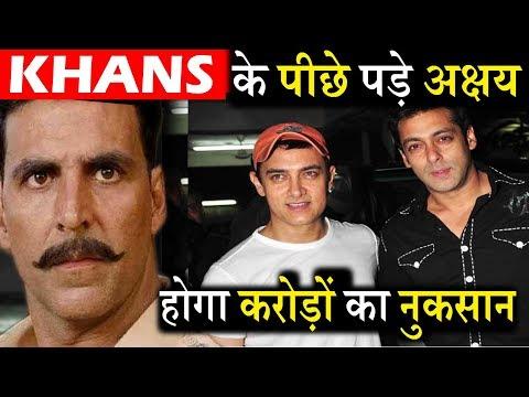 Salman और Aamir के लिए बड़ी मुसीबत बने Akshay ऐसे देंगे बॉक्स ऑफिस पर टक्कर। Akshay Vs Khans Clash