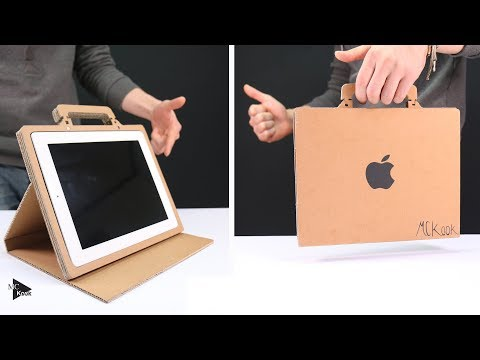 How to Make Simple Tablet Stand(case) from Cardboard