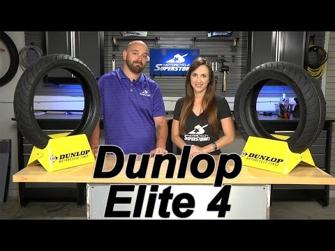 Dunlop Elite 4 Tire Review | Motorcycle Superstore