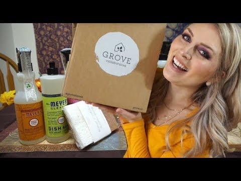 Honest Review of Grove Collaborative AND All Natural Cleaning Supply Haul!