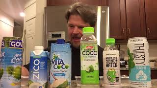 Coconut Water Taste Test & Food Review