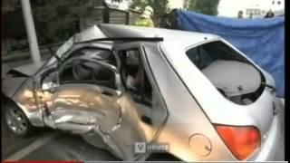 preview picture of video '20140930 Einsatz Verkehrsunfall PKW vs LKW'