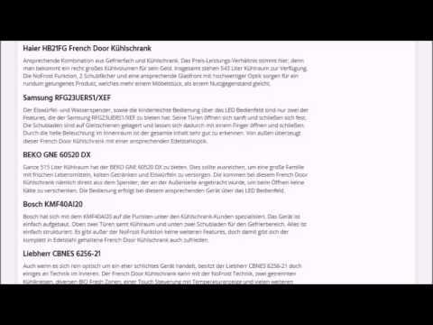 french-door-kuehlschrank.de   Test, Kaufempfehlung & Ratgeber