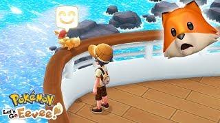 ALL ABOARD THE SS ANNE!! | Pokémon Let's Go Eevee + Pikachu #9
