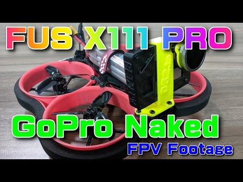 FUS X111 Pro on GoPro naked