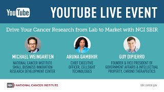 Drive Your Cancer Research from Lab to Market with NCI SBIR