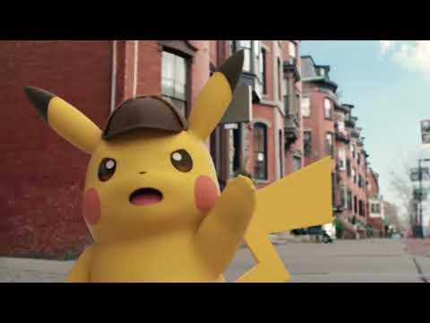 Видео № 1 из игры Detective Pikachu [3DS]