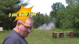 Rim Launching with Exploding Targets