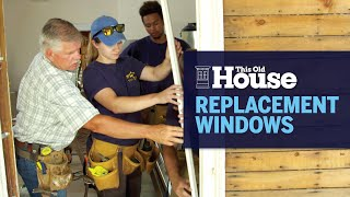 How To Install A Window Sash Replacement Kit | This Old House