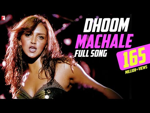 Dhoom Machale - Full Song   Dhoom   Esha Deol   Uday Chopra   Sunidhi Chauhan