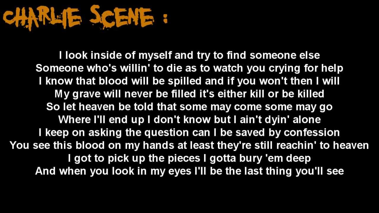 I don't wanna die – Hollywood Undead Lyrics
