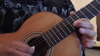 Aventura-El desprecio cover en guitarra