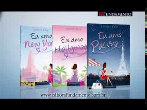 Eu amo (New York, Hollywood e Paris) - Editora Fundamento