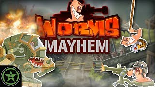 NO SCOPE BUNKER BUST - Worms W.M.D. - Worms MAYhem   Let's Play